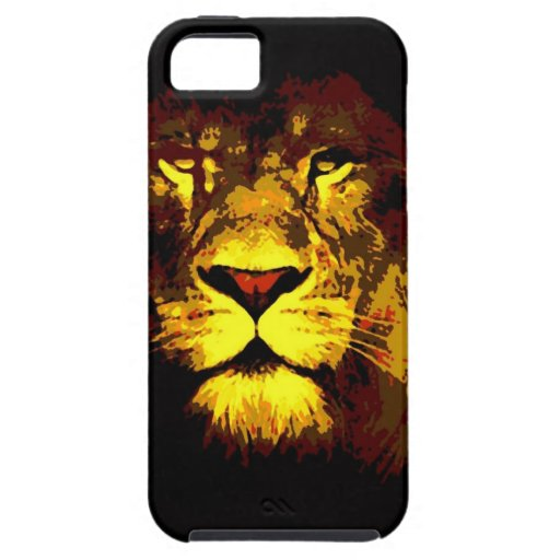 Lion iPhone 5 Covers