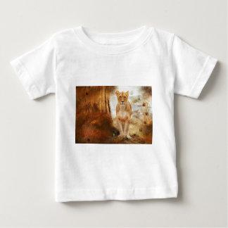 lion cat African Africa animal feline wild golden Baby T-Shirt