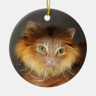 Lion cat ornaments