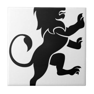 Lion Ceramic Tile