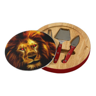 Lion Cheese Board