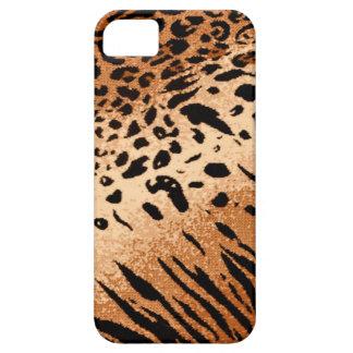 Lion Cheetah Tiger Big Cat Animal Print iPhone SE/5/5s Case
