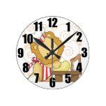 Lion Chef Decorative Kitchen Clock