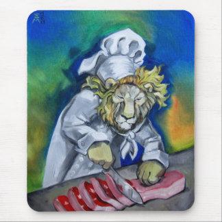 Lion Chef Mouse Pad