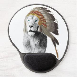 Lion Chief Gel Mouse Pad