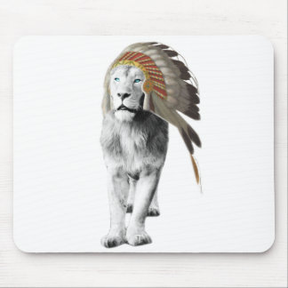 Lion Chief Mouse Pad
