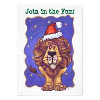 Lion Christmas Announcement