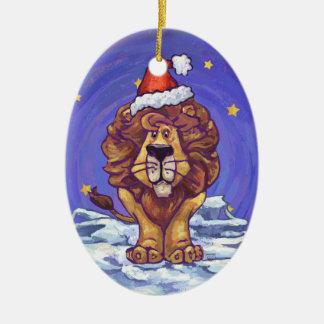 Lion Christmas Christmas Ornaments