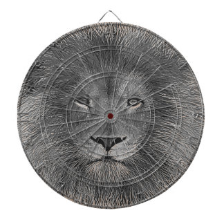 Lion Close Up Dart Boards