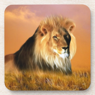 Lion Drink Coaster