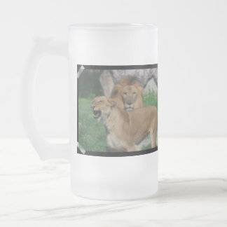 Lion Couple Mugs