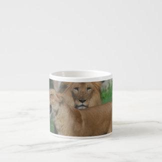 Lion Couple Espresso Cup