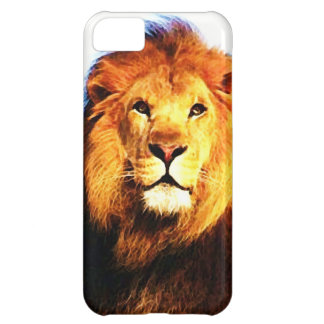 Lion Cover For iPhone 5C
