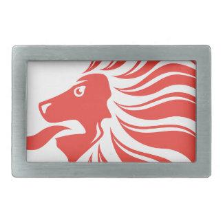 Lion Crown vector Belt Buckle