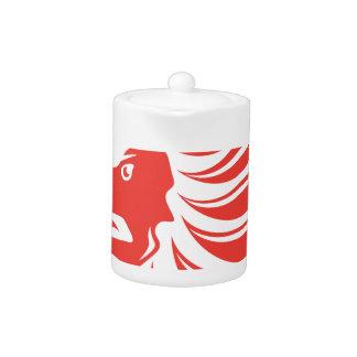 Lion Crown vector Teapot