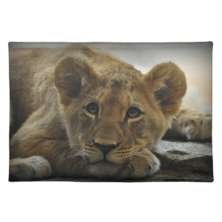 Lion Cub American MoJo Placemat Cloth Place Mat