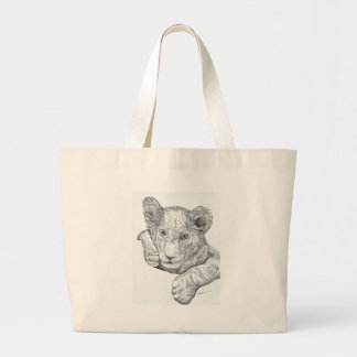 Lion Cub Jumbo Tote Bag