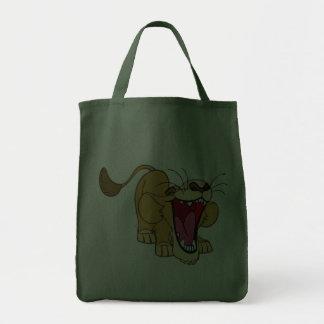 Lion cub cartoon canvas bags