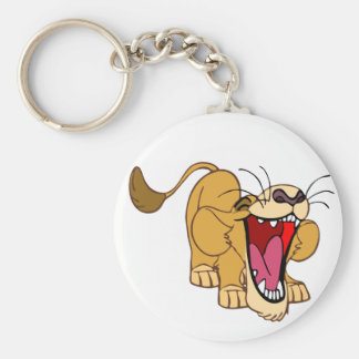 Lion cub cartoon keychain