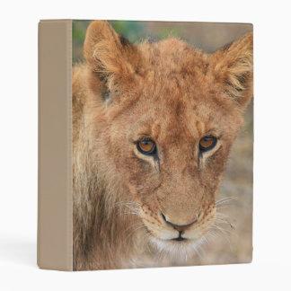 Lion Cub Mini Binder
