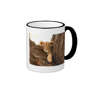 Lion Cub Ringer Coffee Mug