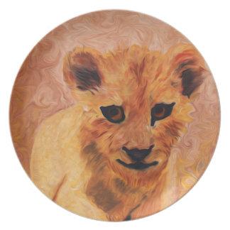 Lion Cub Plate