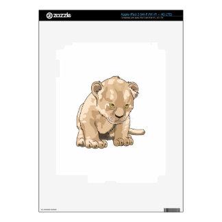 LION CUB iPad 3 DECALS