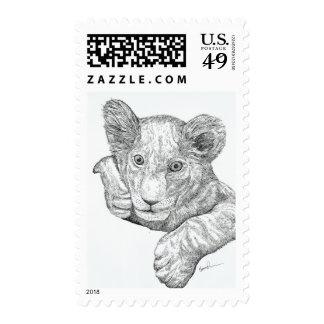Lion Cub Stamp