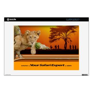 "Lion Cub & Tribe under Tree 13"" computer skin 13"" Laptop Skins"