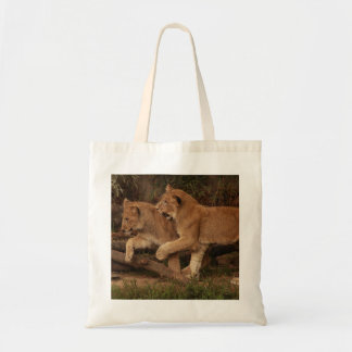 Lion Cubs Tote Bags