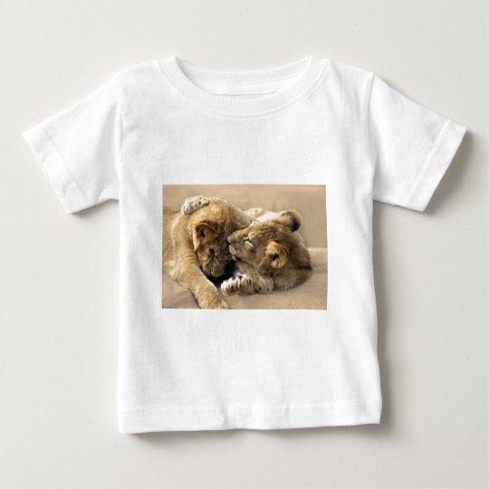 Lion cubs best friends baby T-Shirt
