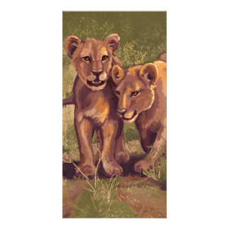 Lion Cubs Card