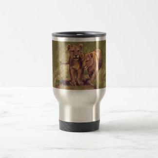 Lion Cubs Travel Mug