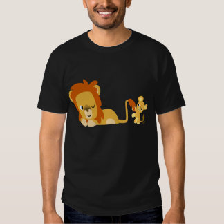 Lion Dad and Cub T-shirt