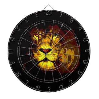 Lion Dartboard With Darts