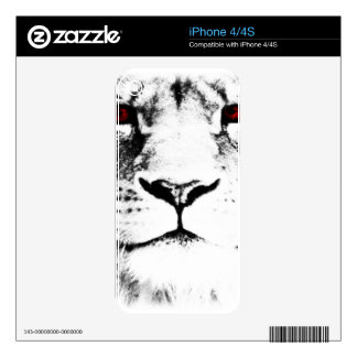 Lion Decal For The iPhone 4S