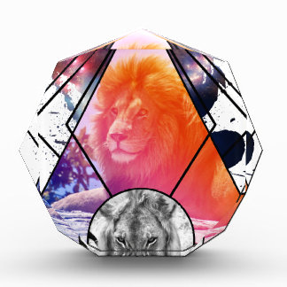 Lion Design Acrylic Award