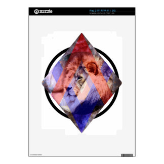 Lion Design Skin For The iPad 2