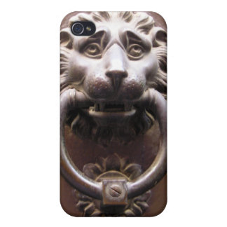 Lion Door Knocker Vintage Photo iPhone 4 Speck Cas iPhone 4 Covers