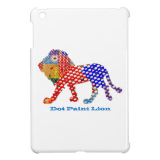 LION   -  dot painted Artistic work iPad Mini Case