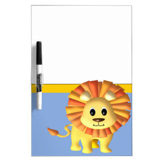 Lion Dry Erase Board