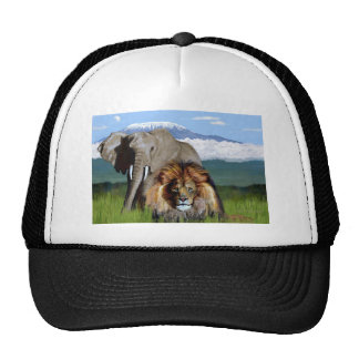 LION ELEPHANT CAP
