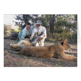 Lion Encounter Card (blank)