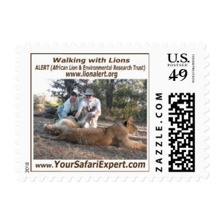 Lion Encounter Stamp (SMALL)