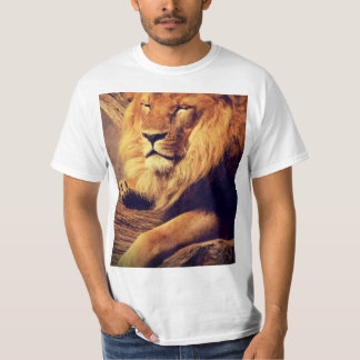Lion enjoying the afternoon sun T-Shirt