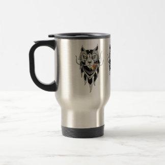 Lion especie taza de café