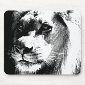 Lion Eyes Mouse Pad