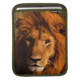 Lion Face iPad Sleeve