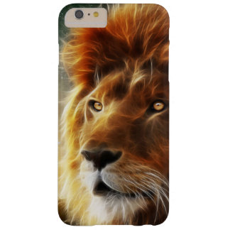 Lion face .King of beasts abstraction Barely There iPhone 6 Plus Case