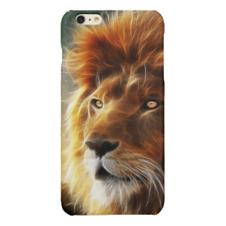 Lion face .King of beasts abstraction Glossy iPhone 6 Plus Case